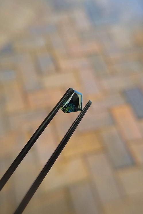 Dk Green Freeform Sapphire