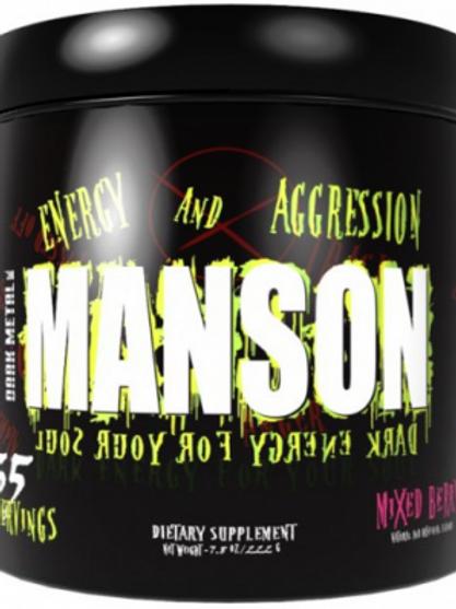 Предтренировочный комплекс Dark Metal Manson.  263 гр.
