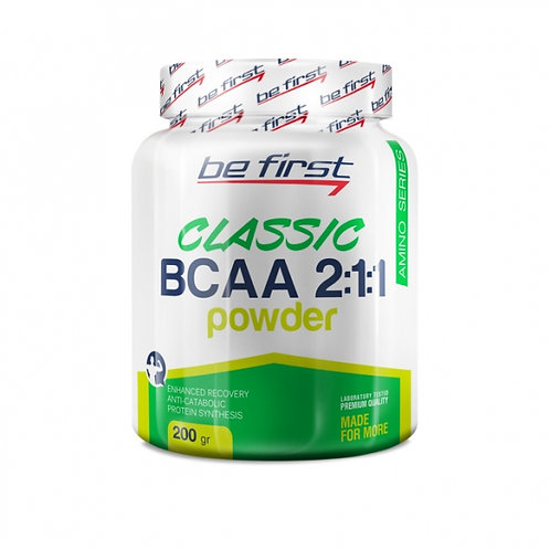 BCAA CLASSIC POWDER 2:1:1. 200 гр.