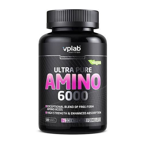 Аминокислотный комплекс Ultra Pure Amino 6000. 120 таб