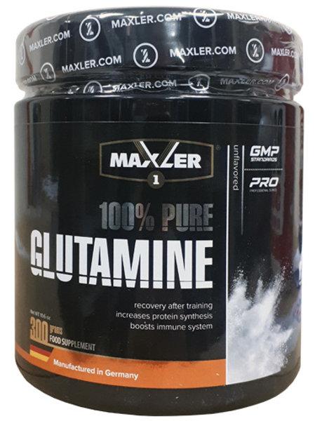 Глютамин от Maxler. 300 грамм