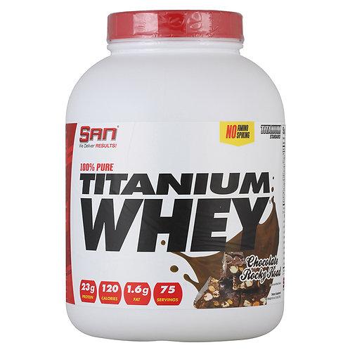 Протеин 100% Pure Titanium Whey от SAN. 2270 грамм