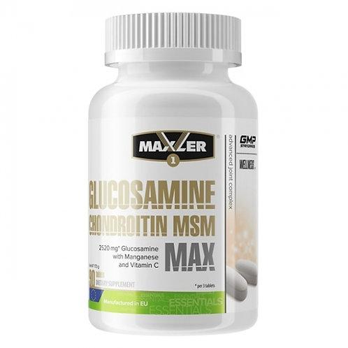 Глюкозамин-Хондроитин МСМ от Maxler, 90 таблеток