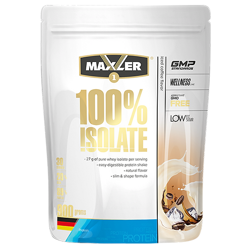 Протеин Maxler 100% Isolate. 900гр