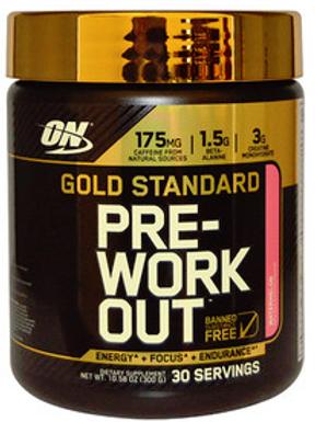 Предтренировочный комплекс Gold Standart от Optimum Nutrition. 300 гр.