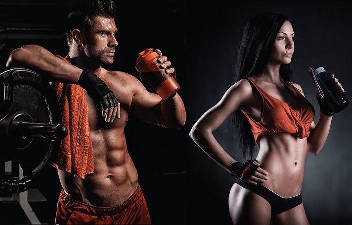 Спортсмены употребляют протеин