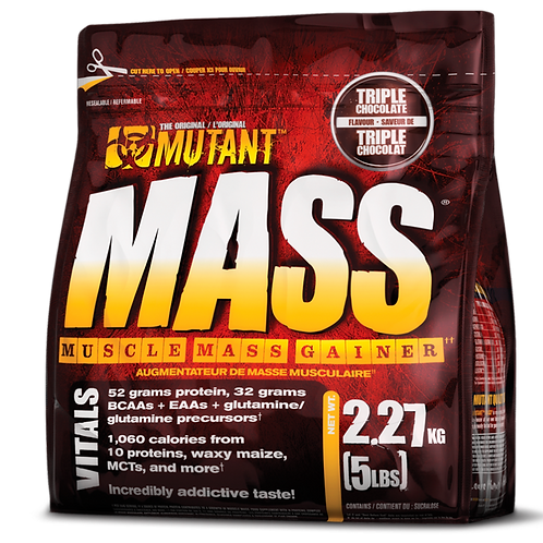 Гейнер Mutant Mass. 2270 гр.
