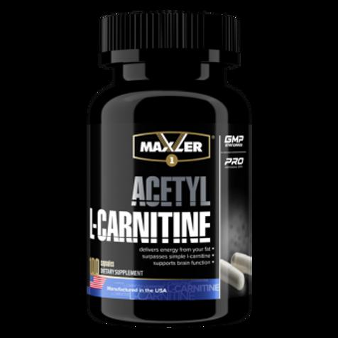 Ацетил Л-Карнитин  от Maxler. 100 капсул
