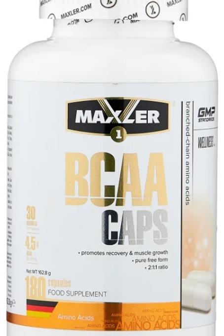 BCAA  Maxler. 240 капсул