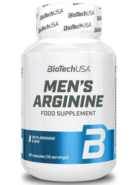 Men's Arginine от BioTech USA, 90 капсул