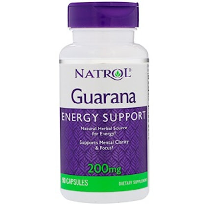 Гуарана экстракт, 90 капсул