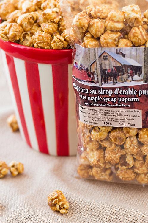 Popcorn au sirop d'érable 100gr