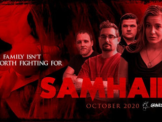 Sneak peek at Indie Horror Comedy 'SAMHAIN'