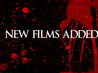 New Films added to archives