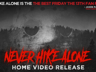 Support the home video release of 'NEVER HIKE ALONE'