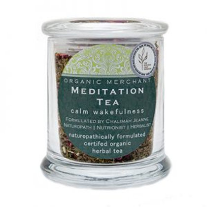 Organic Merchant Meditation Tea Jar