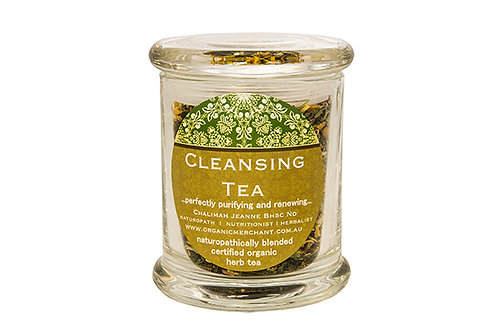 Organic Merchant Cleansing Tea Jar