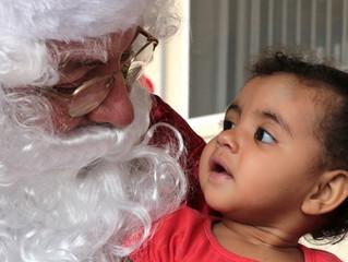 Papai Noel chegou!