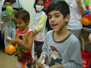 Festa do Dia das Crianças na Santa Casa