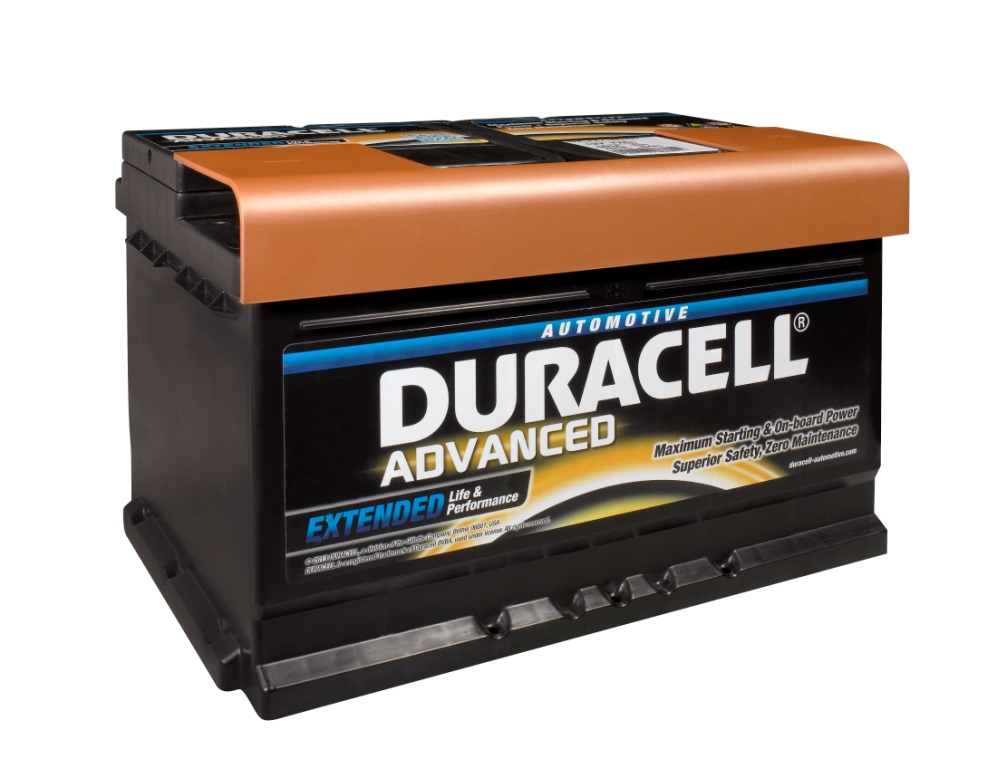 Duracell Advanced Car Battery