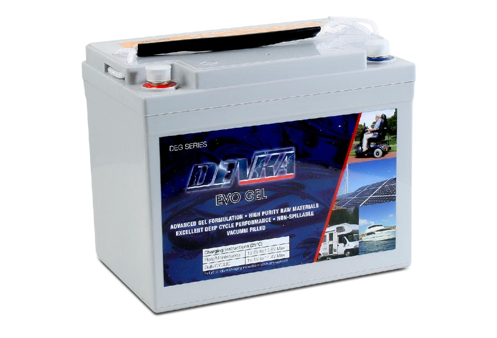 Denka DEG12-33 GEL Battery