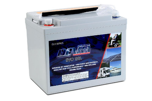 DENKA DEG12-33 GEL Battery : 33Ah(C20)