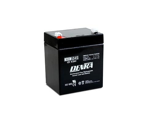 Denka DK1245 12V 4.5Ah AGM Battery