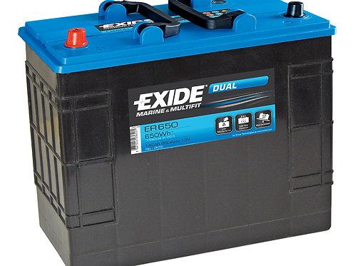 EXIDE ER650 142Ah(20h)