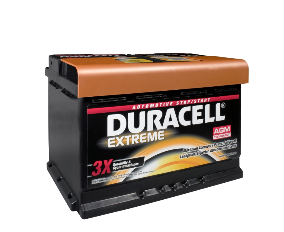 Duracell Exteme AGM Battery