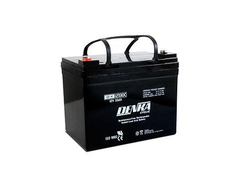 Denka DK12330C 12V 33Ah AGM Battery