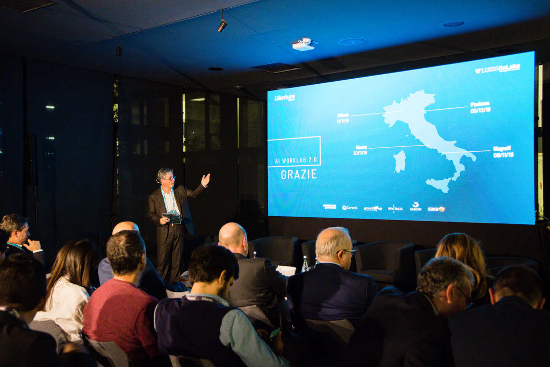 Evento di lancio AI WorkLab 2.0