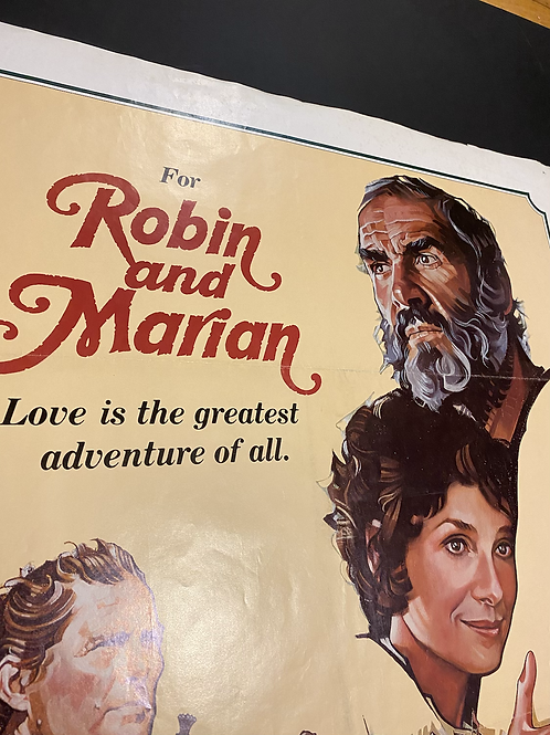 For Robin and Marian poster starring the late  Sir Sean Connery