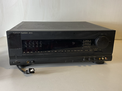 Harman Kardon AVR 55 - 65 wpc high current receiver w/phono out tested no remote