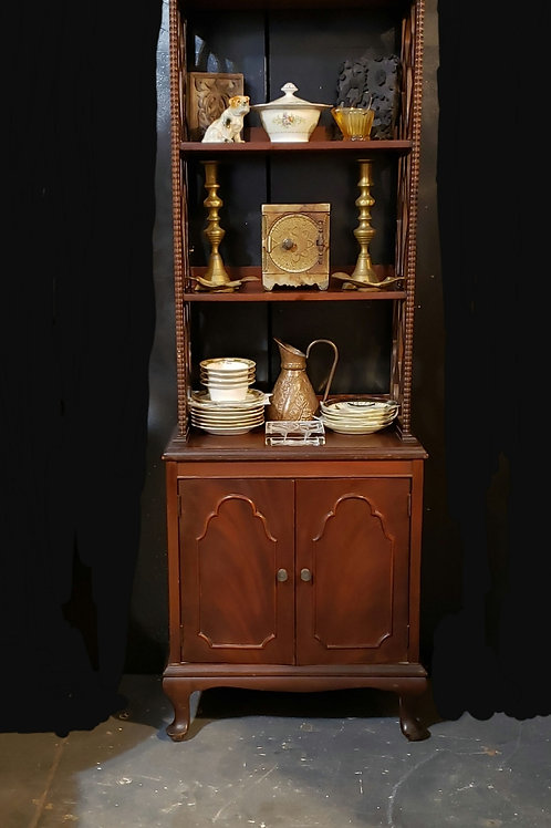 Mahogany etagere/bookshelf