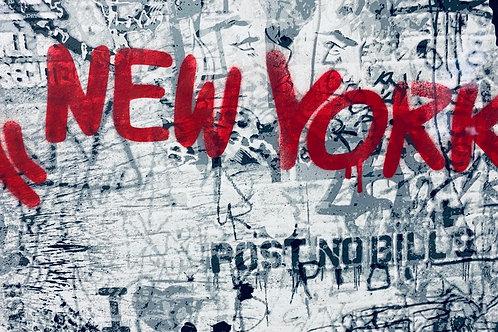 "MR.Brainwash original ""Icons New York"