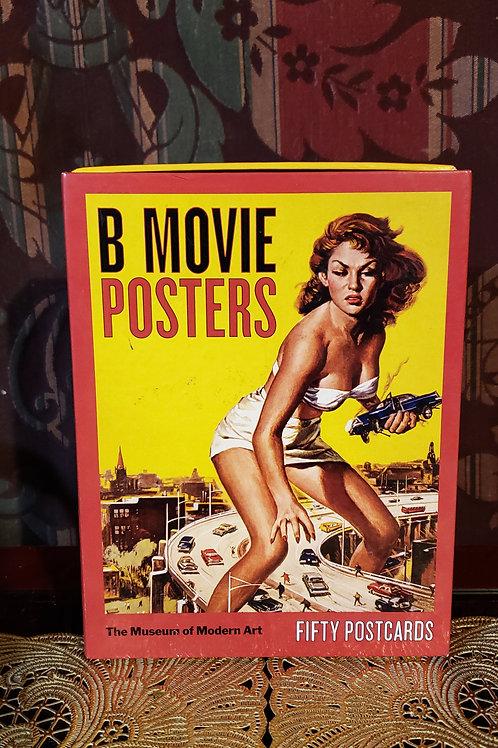 Museum of modern art B movie poster postcards