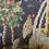 Thumbnail: Hand knit fox and robin tapestry