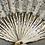 Thumbnail: Lace fan 1 - cream background