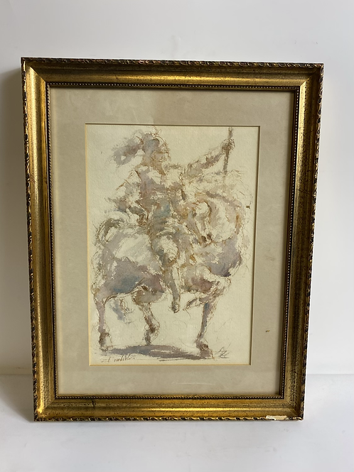 Knight by Charles Burdick