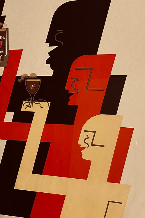 'A Votre Sante', Lithographic Poster, 1934-35