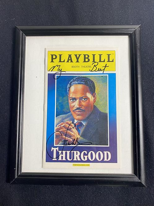 Various signed Broadway playbills