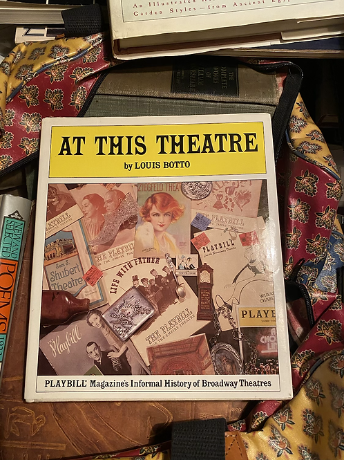 At the theatre by Louis Botto (signed)