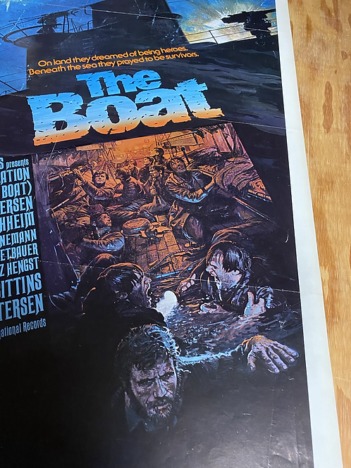 """The boat"" aka ""Das Boot ""movie poster"
