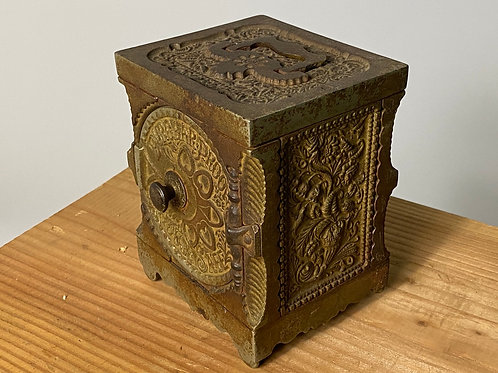 Antique ca.1897 lock box