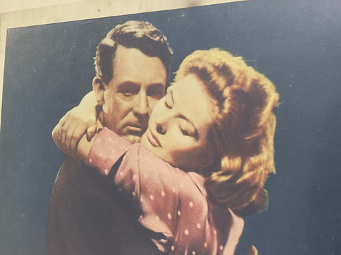 """Framed picture of Cary grant & ingrid bergman """"Indiscreet"""""""
