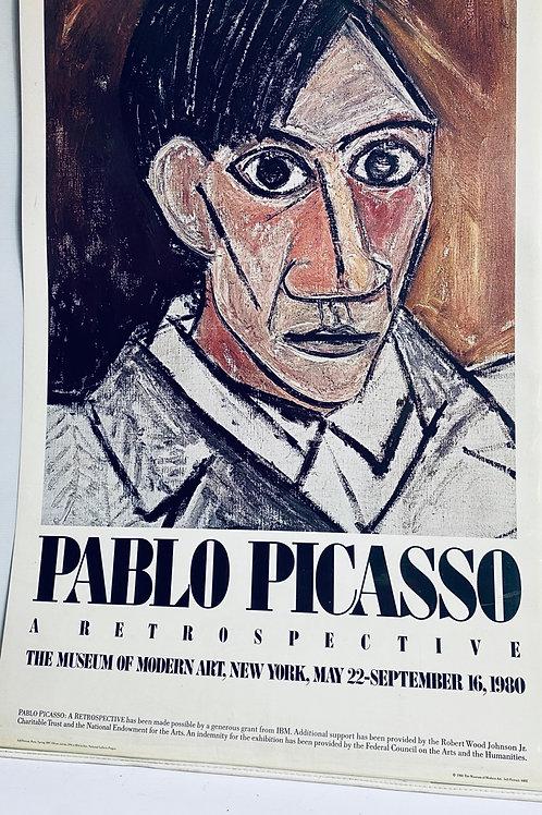 Original museum of modern art Pablo Picasso poster