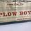 Thumbnail: Plow boy Vintage stud poster