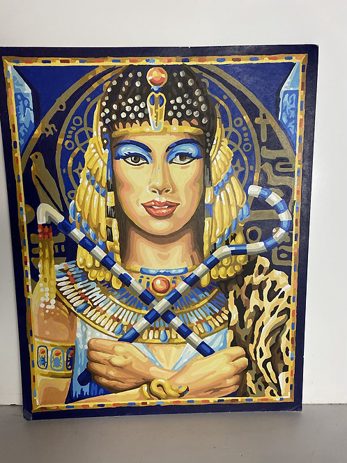 Queen of the Nile  (paint by number)