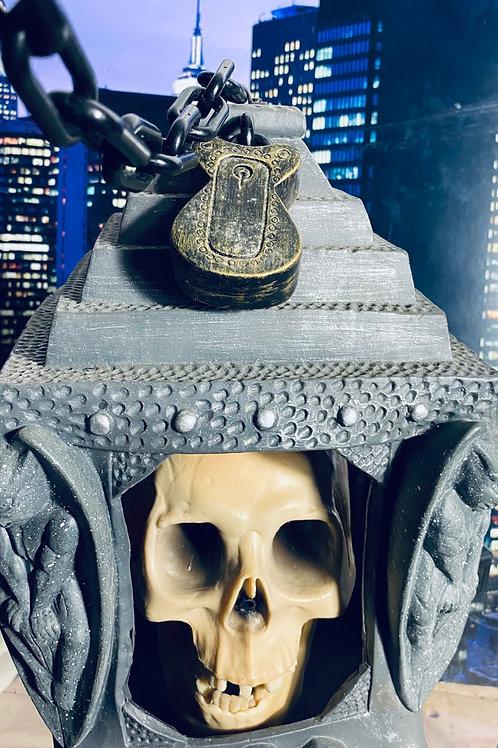 Mic and skull speaker