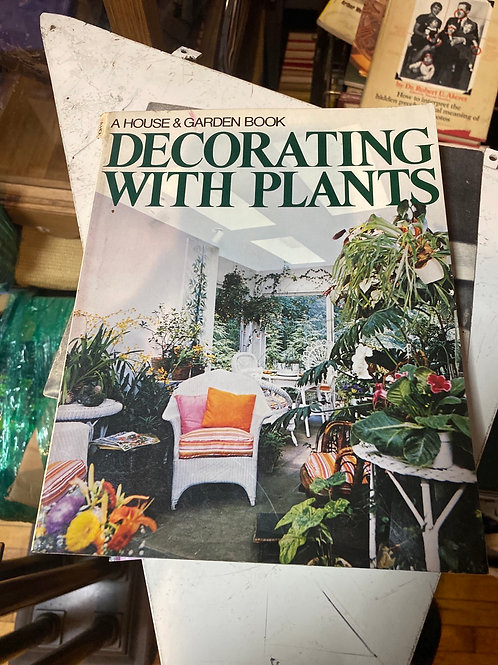 Decorating with plant